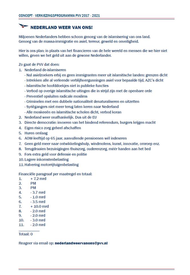 Strategisch A-4 PVV